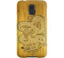 Yellow lion & dragon Samsung Galaxy Case/Skin