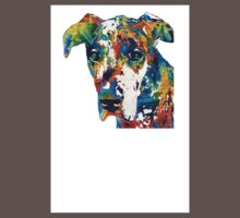 Colorful Great Dane Art Dog By Sharon Cummings Kids Clothes