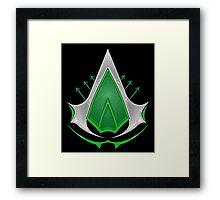 Arrow´s Creed 2.0 Framed Print