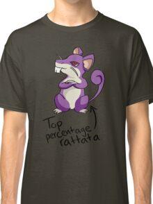 Top Percentage Rattata Classic T-Shirt