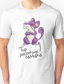 Top Percentage Rattata Unisex T-Shirt