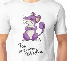 Top Percentage Rattata Unisex T-Shirt