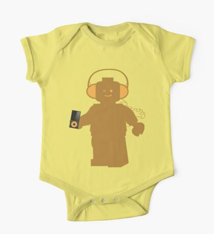 Minifig with Headphones & iPod  One Piece - Short Sleeve