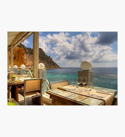 Dining in Paradise Photographic Print