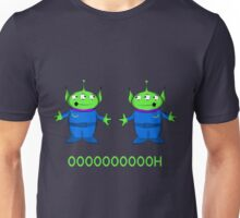 Green aliens Unisex T-Shirt
