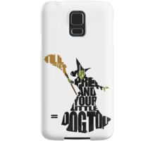 Wicked Witch Of The West Samsung Galaxy Case/Skin