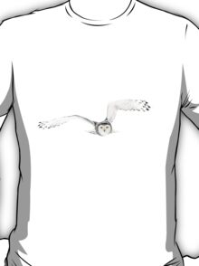 Eyes on the prize - Snowy Owl T-Shirt