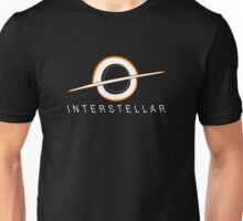 Black Hole Interstellar Unisex T-Shirt