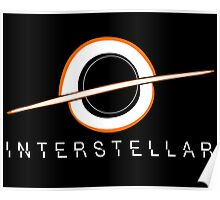 Black Hole Interstellar Poster