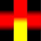 Black - Yellow - Red by Benedikt Amrhein