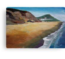 Irish Coast Near County Wexford Canvas Print