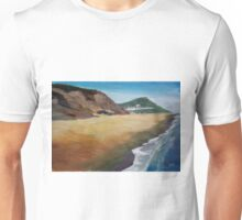 Irish Coast Near County Wexford Unisex T-Shirt