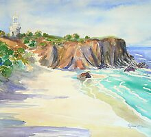 Fingal Lighthouse  by Virginia McGowan