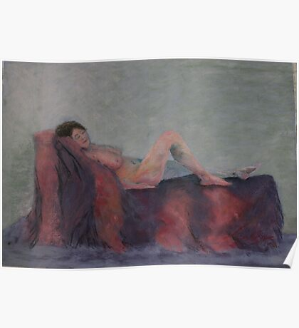 Annette in Pastel Poster