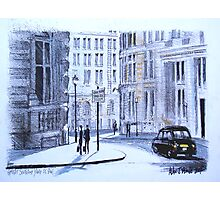 Great Scotland Yard Street, Whitehall, London Photographic Print