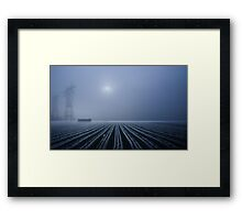 Out There Framed Print