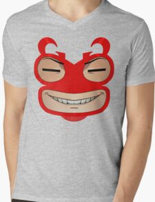 Sly Grin Mens V-Neck T-Shirt