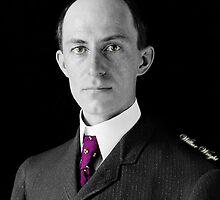 Wilbur Wright by restorephotos