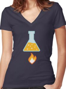 Apply Heat Women's Fitted V-Neck T-Shirt