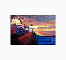 Santa Monica Pier at Dawn Unisex T-Shirt
