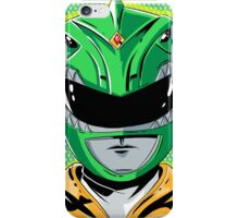 MMPR - Green Ranger iPhone Case/Skin