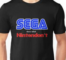 SEGA Does What Nintendon't Unisex T-Shirt