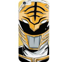 MMPR - White Ranger iPhone Case/Skin