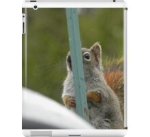 Hiding From The Camera iPad Case/Skin