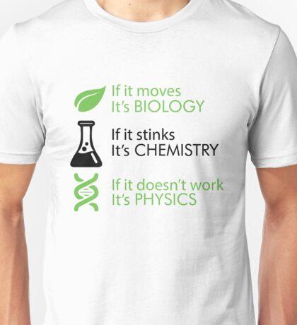 Biology - Chemistry - Physics jembutmu Unisex T-Shirt