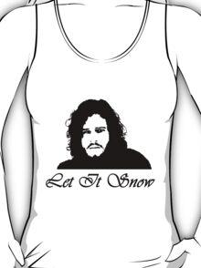 Let It Snow-Jon Snow T-Shirt