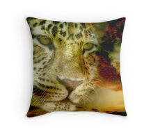 Leopard ~ A Coolaboration Throw Pillow