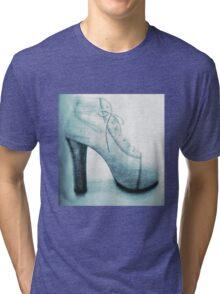 High Heel (blue) Tri-blend T-Shirt
