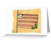 Honoring at Christmas Mixed Media 13c Greeting Card