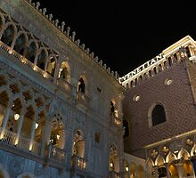 It's Not Venice – the Venetian Las Vegas at Night by Georgia Mizuleva
