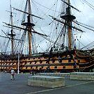 HMS Victory by Margaret Zita Coughlan