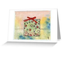 Christmas Present For You 20c Greeting Card