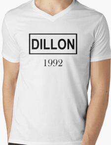DILLON BLACK  Mens V-Neck T-Shirt