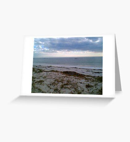 SA West Coast 5am Greeting Card