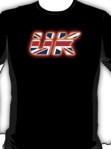 UK - Flag Logo - Glowing T-Shirt
