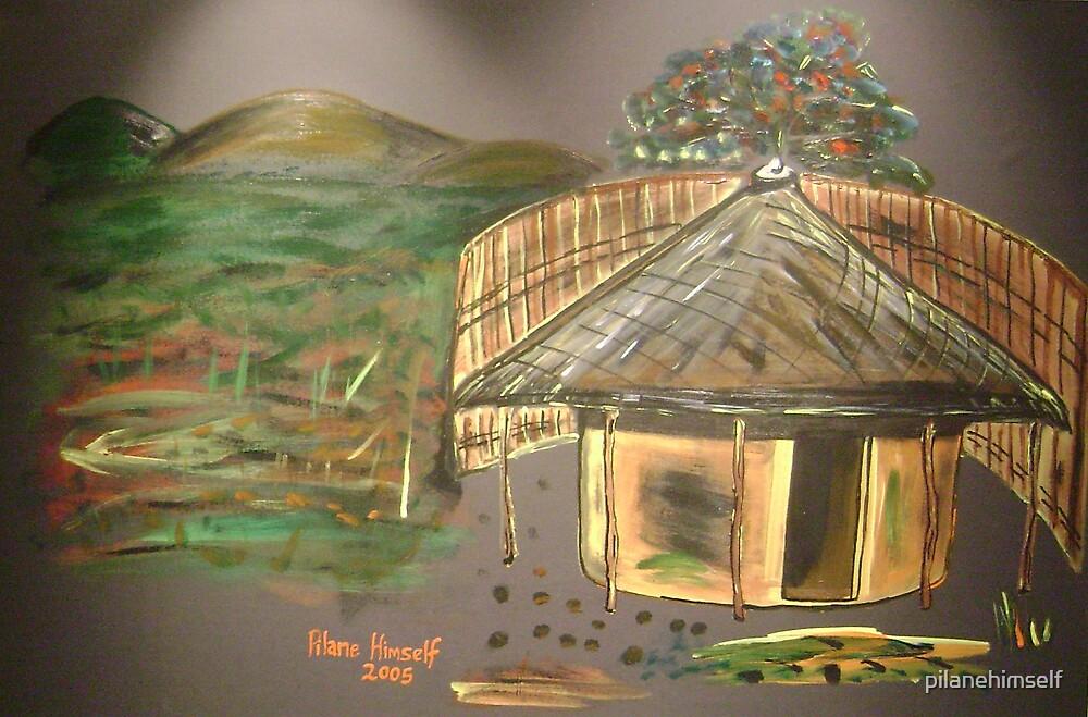 Tswana Home by pilanehimself