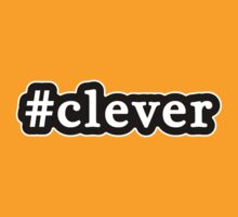 Clever - Hashtag - Black & White by graphix