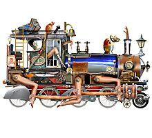 Human Train Photographic Print
