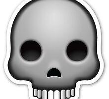 skull emoji by artbyeilidh