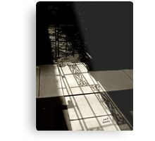 Gate Shadow Metal Print