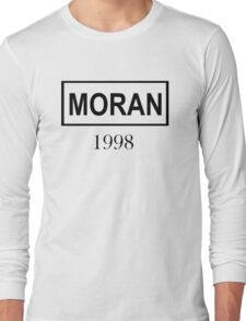 MORAN BLACK Long Sleeve T-Shirt