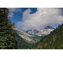 Rogers pass  View  Photographic Print