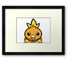 Torchic Framed Print