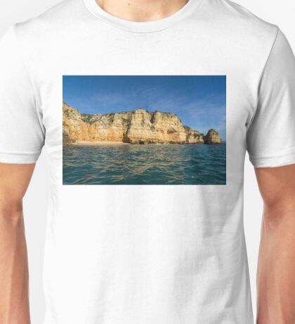 Algarve Magic - Sailing by Colorful Cliffs and Secluded Beaches Unisex T-Shirt