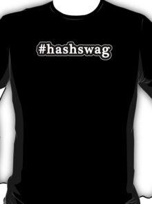 Hash Swag - Hashtag - Black & White T-Shirt