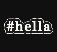 Hella - Hashtag - Black & White Kids Clothes